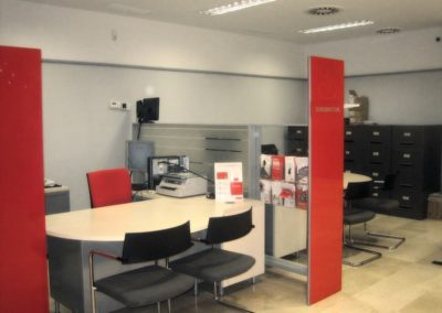 Reforma de oficinas Banco Santander